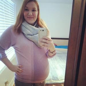 belly week 27